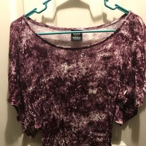 Bobeau Burgundy Top